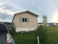 3 Bedroom mobile home for sale, rent, or rent to own.