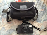 Pentax Espio 140- 35mm compact camera with carrying case