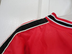 Steve and Barry's red fleece lined winter jacket hockey clothing London Ontario image 3