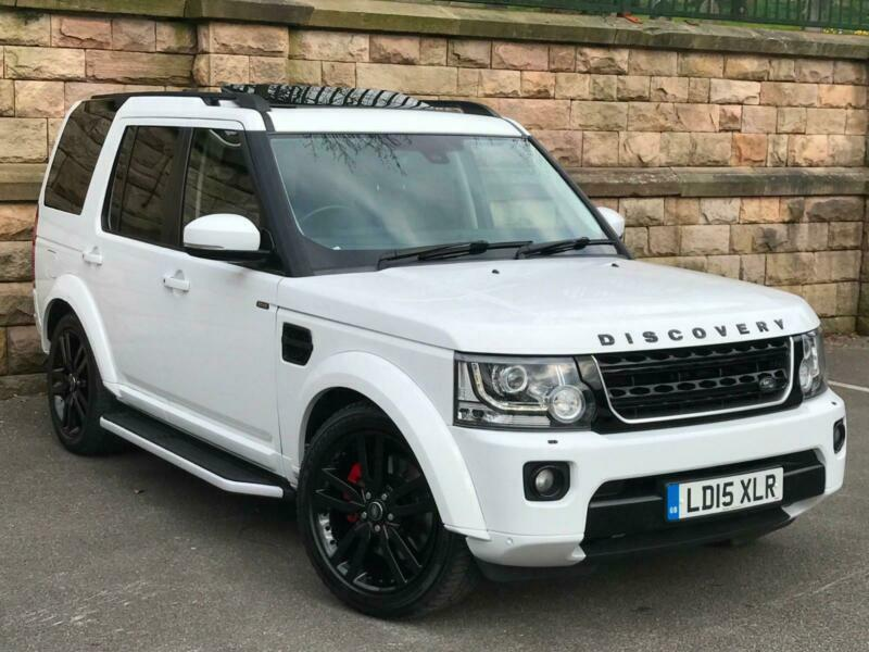 White Land Rover >> 2015 White Land Rover Discovery 4 3 0sd V6 Auto Hse P X Finance From 115 P W In Blackburn Lancashire Gumtree