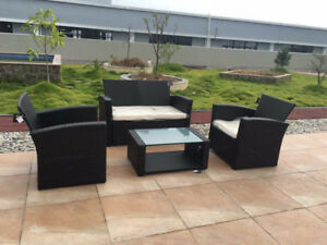BRAND NEW 4 PCS PATIO SET VERY LOW PRICE -