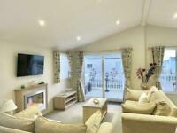 Extra Wide Lodge for Sale on Coastal Park near Morecambe Lake District