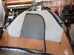 Dome Tent with solar powered led lights