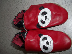 Robeez Red Panda Shoes Located In Marmora Peterborough Peterborough Area image 1