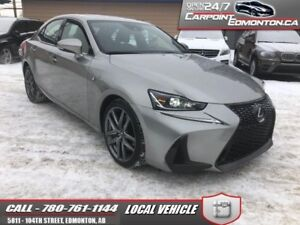 2017 Lexus IS 300 F SPORT....AWD ..ONE OWNER...FLAWLESS...FULL W