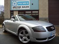2004 (54) AUDI TT ROADSTER 1.8 T CONVERTIBLE, FULL HEATED LEATHER +