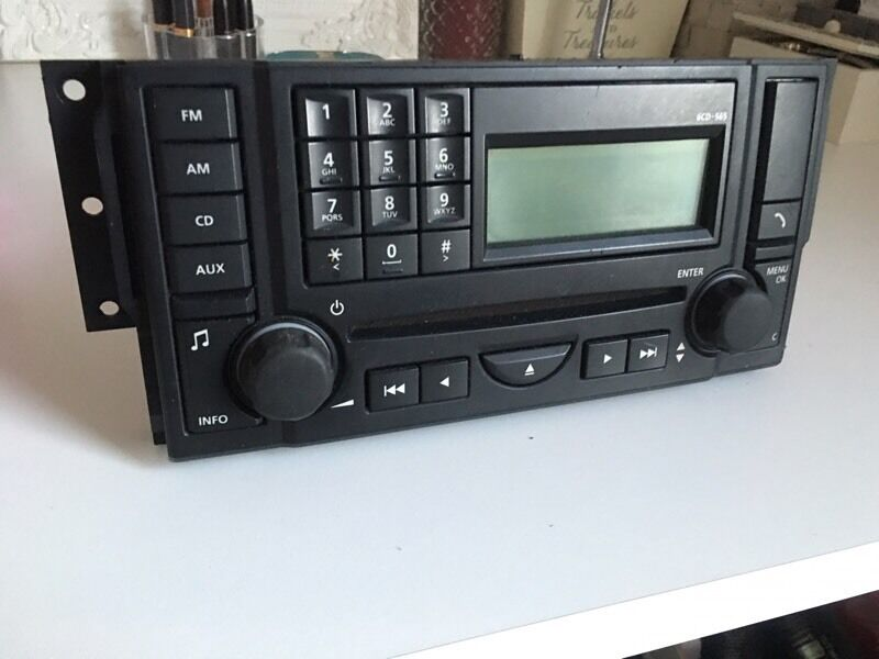 Range Rover Sport Land Rover Discovery 3 Radio Cd Player