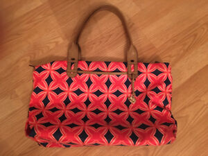 Navy and Red Stella and Dot Bag