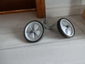 Bike training wheels (adjustable to 3 levels)