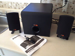 Klipsch 200 watt THX-certified 2.1  Pro Media System