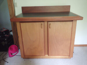 Drafting Table/Cabinet