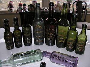 antique B.C. Bottles & Labels