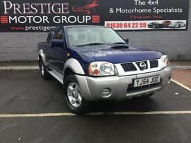 2004 54 Nissan NAVARA 2500 DOUBLE CAB PICK UP 4 DOOR 4X4