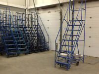 ROLLING LADDERS. BEST PRICES AND QUALITY.