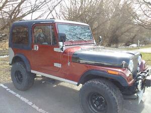 1985 CJ7 Jeep
