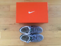 Nike Gray Shoes and White Shoes