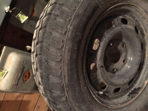 $500 for 4 SAXON Winter tires with rims, 265/65/R17