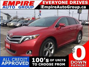 2014 TOYOTA VENZA LIMITED * AWD * LEATHER * SUNROOF * NAV * REAR