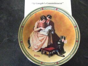 A Couple's Commitment Collector Plate