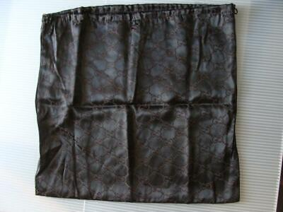 "Gucci Monogram Dust Bag 16"" x 15"" Vintage Drawstring Italy"