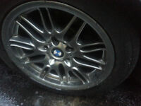 Nice BMW M5 Rims on low profile tires Up for trade