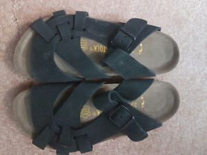 Birkenstocks Pisa Ladies Black Size 4