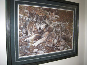 Den Mother - Wolf Family by Carl Brenders