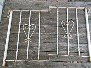 Wrought Iron step rails
