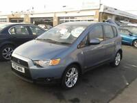 2010 MITSUBISHI COLT 1.3 CZ2 Automatic 5 Door From GBP4,695 + Retail Package