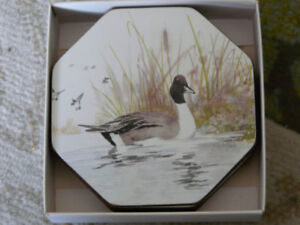 Set of 6 BRAND NEW coasters made by Cavalli in New Zealand