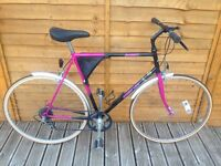 Serviced - Dawes Large Retro Hybrid Racer - New Tyres