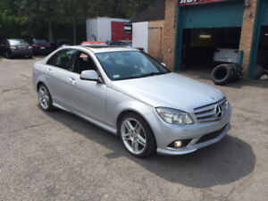 2008 Mercedes-Benz C-Class Sport Package Berline 12000$ CASH !