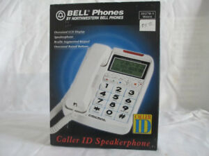 BELL Phone: Oversized LCD Screen/Raised Buttons