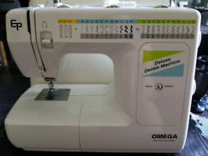 Omega Deluxe Denim Sewing Machine