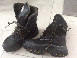 Snowmobile boots - mens size 10