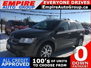 2015 DODGE JOURNEY R/T * AWD * LEATHER * REAR CAM * HEATED SEATS