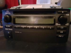Radio CD d'origine Toyota Corolla 2003-2008