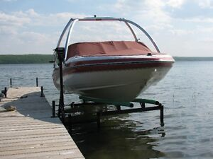 CUSTOM CANTILEVER PONTOON, BOAT AND WAKEBOARD BOAT LIFTS Prince George British Columbia image 3