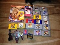 Nintendo 64 N64 Games & Accessories Controller
