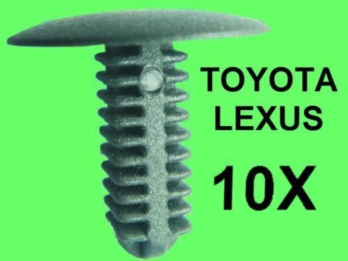 10 x Boot Lining Door Panel Mounting Clip for Toyota Honda Lexus 90467-05096-22