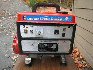 Power Fist 1200 Watt Four Stroke Generator