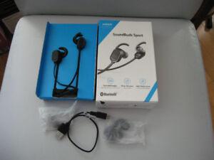 Anker SoundBuds Sport Ear Phones Model A3233 New