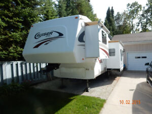 2007 Crossroads 30ft Cruiser 5th Wheel