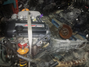 JDM lexus is300 altezza beams 3sge engine 6 speed transmission