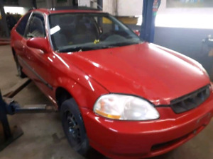 98 civic si trade for van