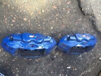 BMW M4 2015 SET OF FRONT BRAKE CALIPER . Offers invited