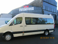 VOLKSWAGAN CRAFTER MINIBUS WITH WHEELCHAIR ACCESS £10995+VAT