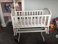 Vib gliding crib