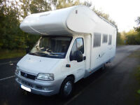Elnagh Super D112G 6 berth rear fixed bed motorhome for sale