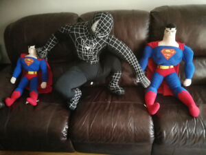 Marvel Superheroes Plush Large Size Venom Superman 2 feet tall++